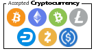 Crypto Currency Accepted Image